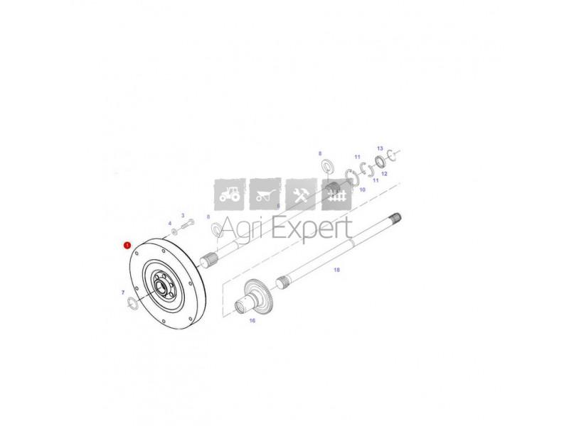 716100420113 Amortisseur de torsions transmission tracteur