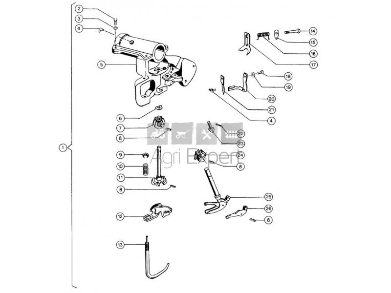 000077.1 Chassis de noueur presse Claas Markant 40, 41, 45