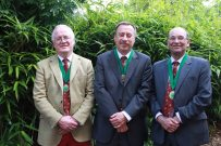 L-R James Dick, Nick Millard and Geoff Coster