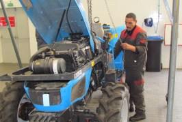Maintenance du tracteur agricole