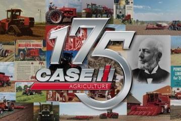 Case IH fête son 175e anniversaire dans le domaine de la fabrication d'équipements agricoles