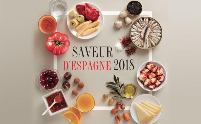 Invitation à découvrir les SAVEURS D'ESPAGNE 2018