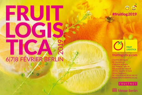 Fruit Logistica 2019: du 06 au 08 février