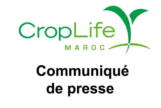 Croplife Maroc: Communiqué de presse