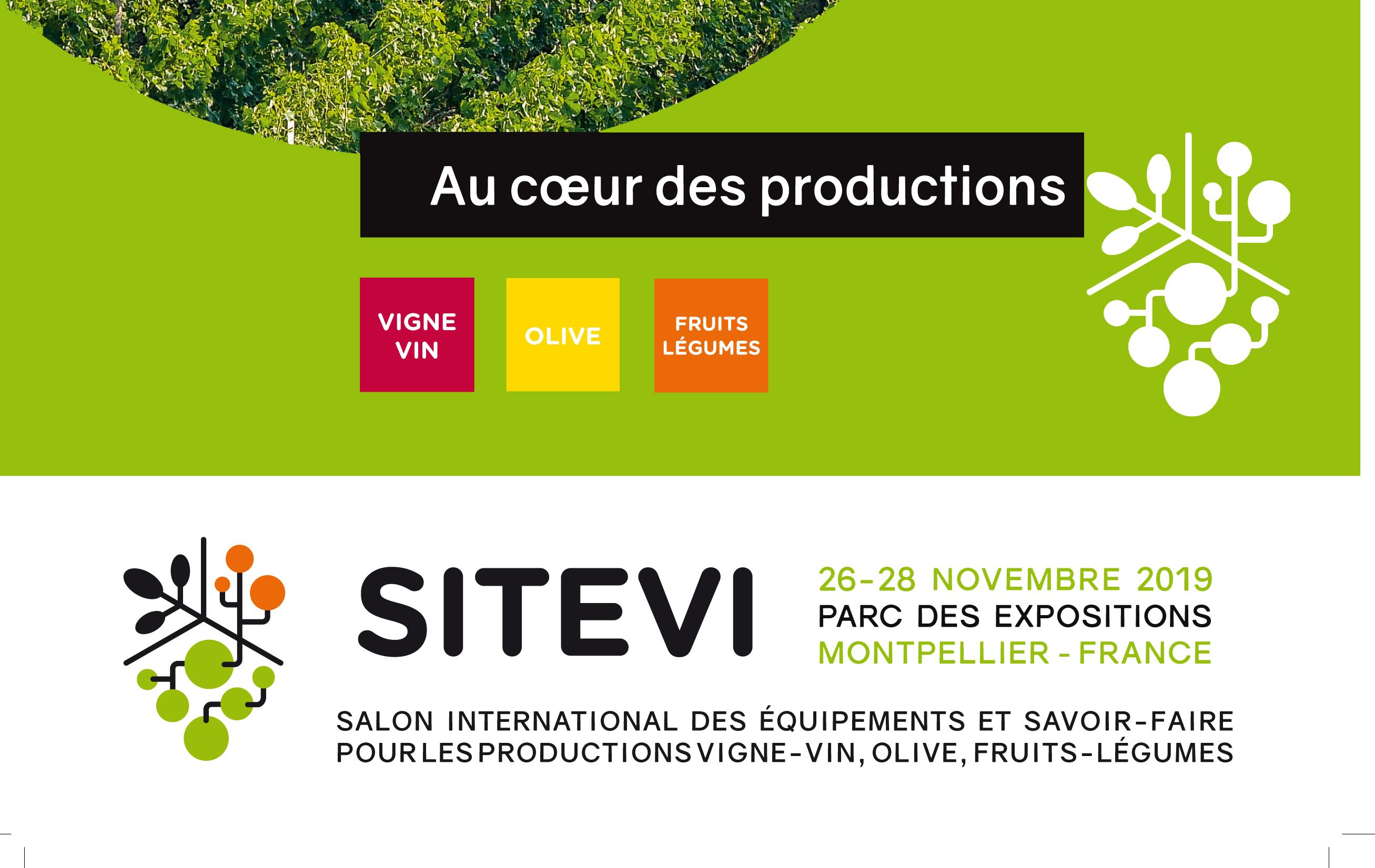 Votre badge d'accès gratuit au salon SITEVI