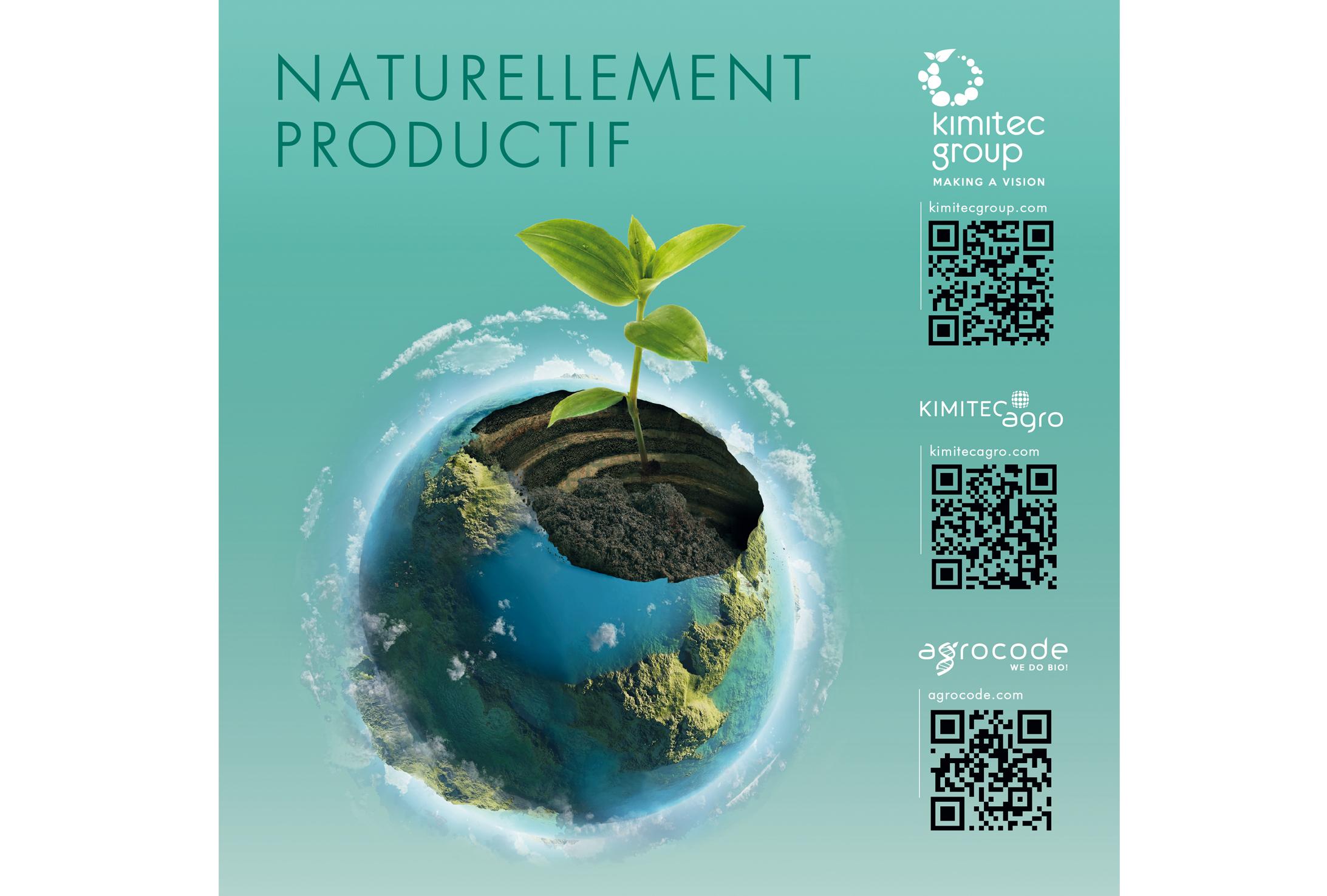 Groupe Kimitec Group : Solutions Naturellement Productives pour les fruits rouges.