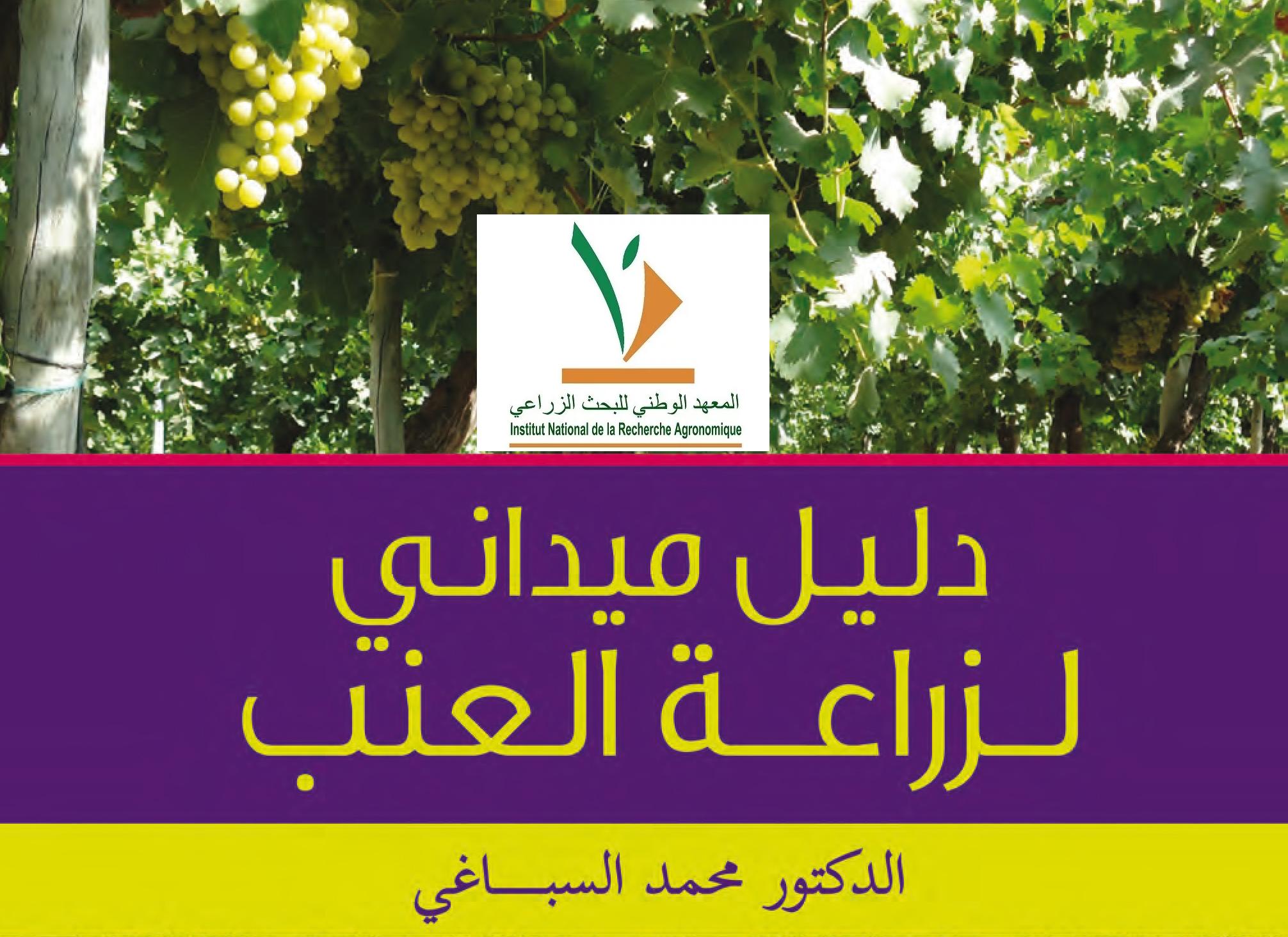 Guide pratique du viticulteur en langue arabe