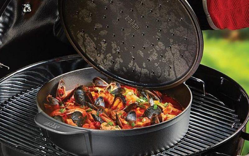 Accessori barbecue cocotte gourmet system di Weber