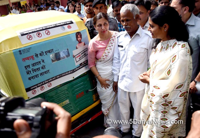 Anupriya Patel flags off