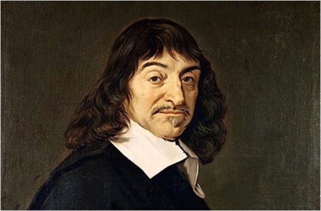 René Descartes, qui nel celebre ritratto di Frans Hals (1649)