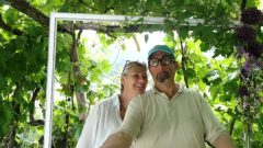 Barbara Pastore e suo marito