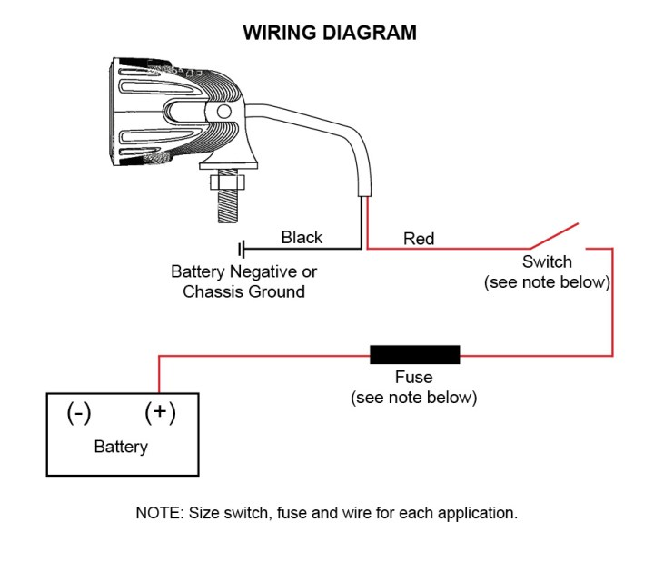 Led Light Bar Wiring Harness Schematic