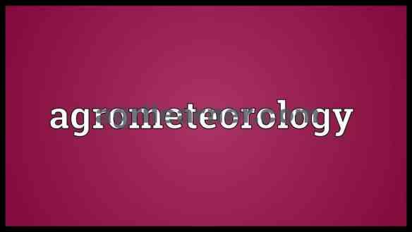 Agro Meterology PDF Notes Download