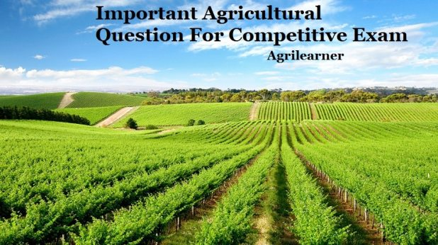 Agricultural Important Question