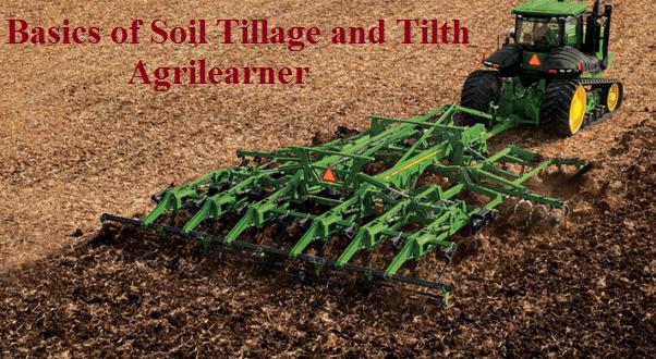 Soil Tillage and Tilth