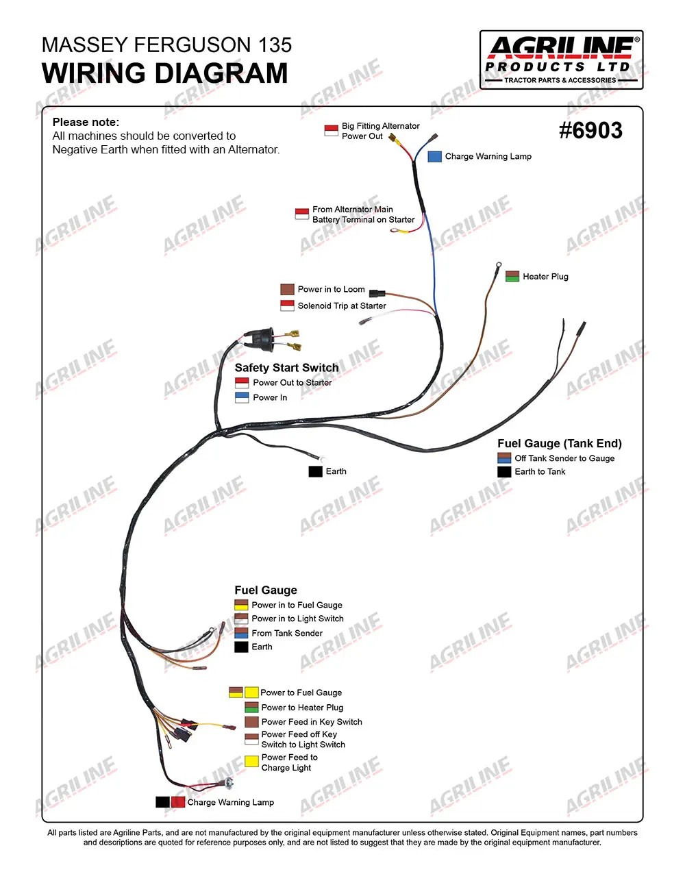 Agco Wiring Harness Custom Project Diagram Alpine Car Audio Alarm 8046 Mf 150 Elect 27 Images