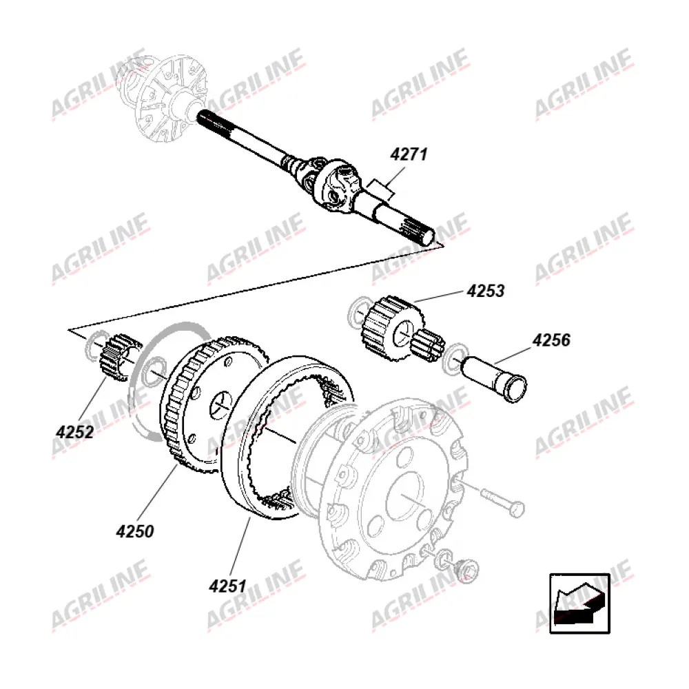 Outer Axle Shaft