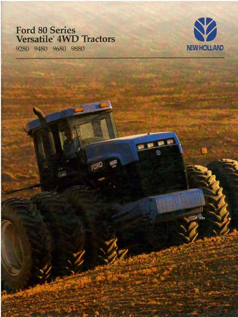 Ford New Holland Tractor Versatile