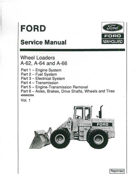 Ford wheel loader specs