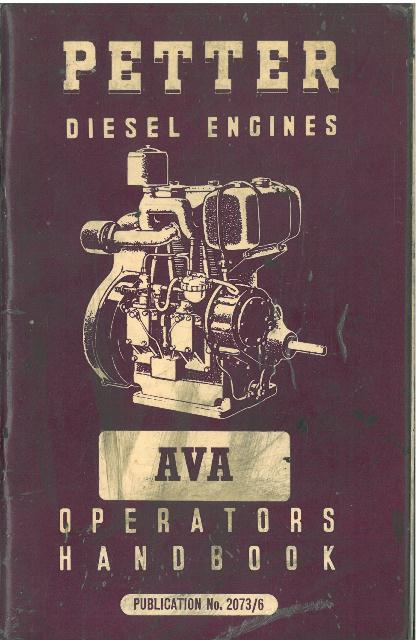 Home Safety Diagrams Petter Diesel Engines Ava Operator Manual With Parts List
