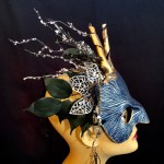 Winter Spirit Faun Mask