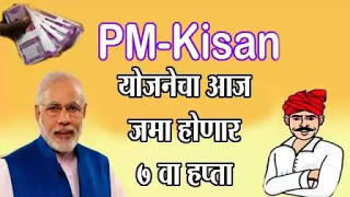 PM-Kisan योजनेचा आज जमा होणार 7 वा हप्ता