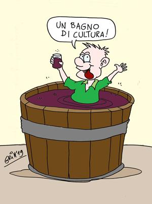vignetta sul vino
