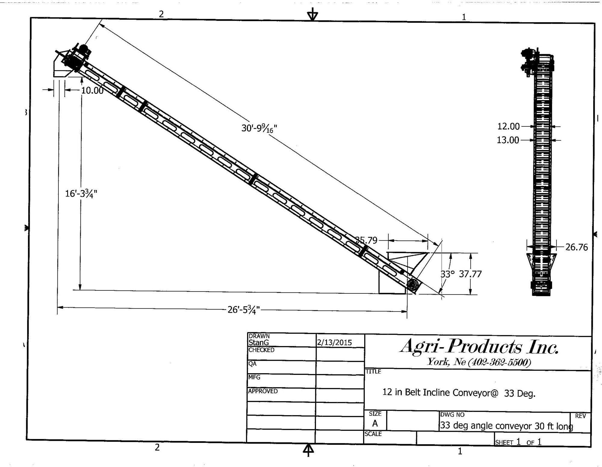 Conveyor Belt Box