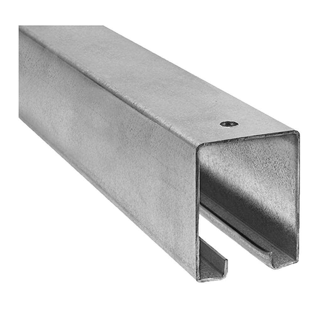 Galvanized Door Track 12 Ft Agri Supply 21106
