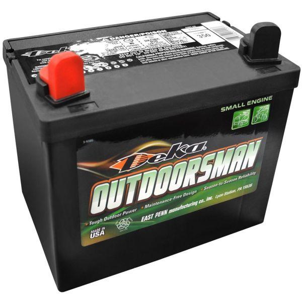 12v Deka Lawn Mower Battery Left Positive 82541