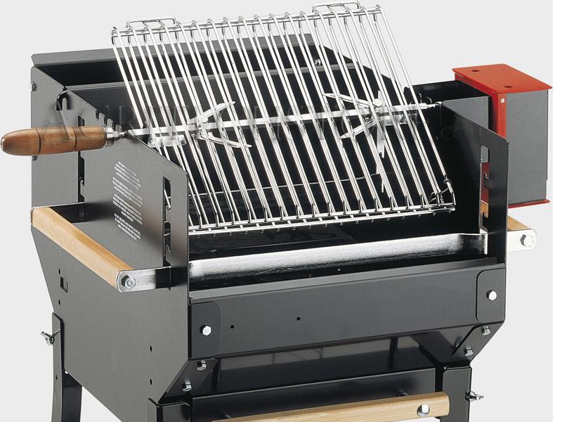 Completo 2 griglie per Barbecue con fermapollo e motore