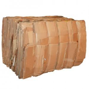 Mill Size Cardboard Bale