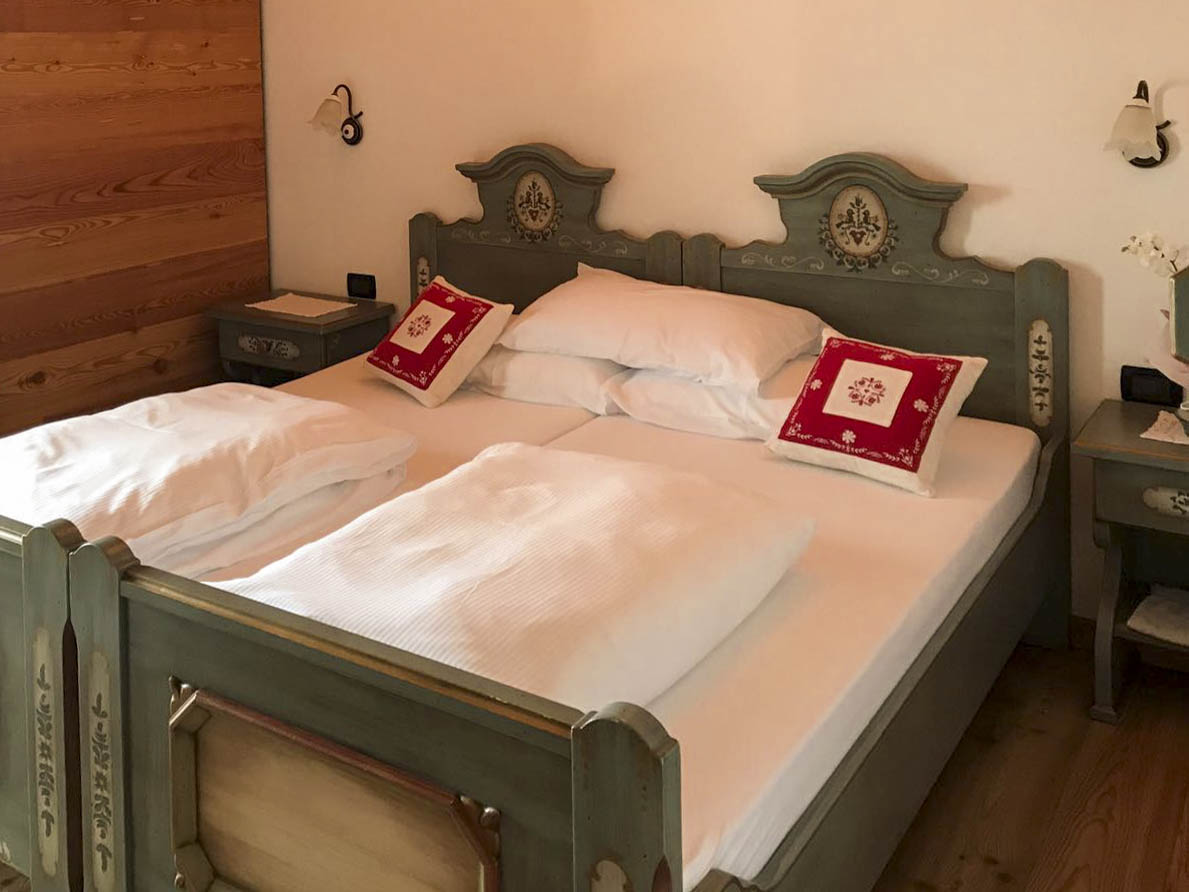 "The room ""Stella Alpina"" in the Agritur Dalaip dei Pape"