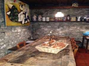 Dettaglio Agriturismo - Tavolo con Funghi