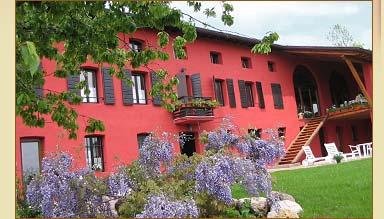 Casa Rossa ai Colli un agriturismo in provincia di Udine