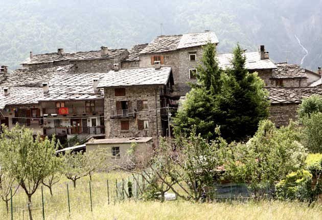 Agriturismo An Seaux a Exilles  Cels Ruinas Torino  Piemonte