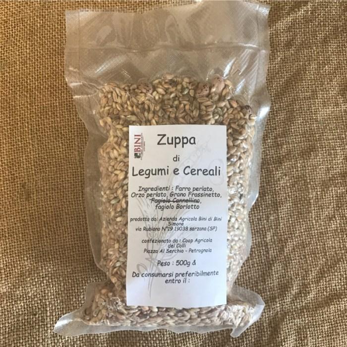 CER003 - Zuppa di legumi e cereali - PRODOTTI AGRITURISMO BINI