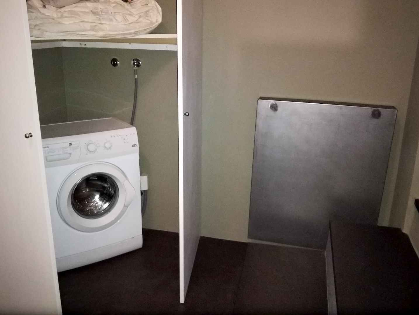 La lavatrice nell'armadio di Casa A... Volte