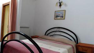 La camera da letto matrimoniale di Casa Clementi