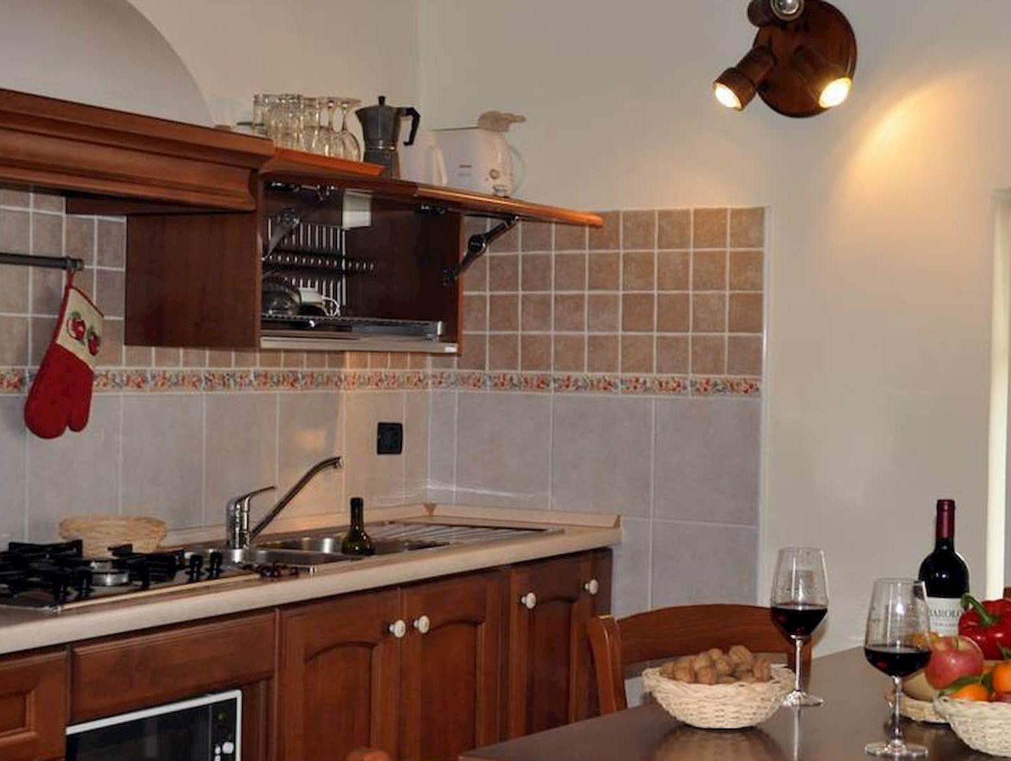 La cucina di Casa Clementi