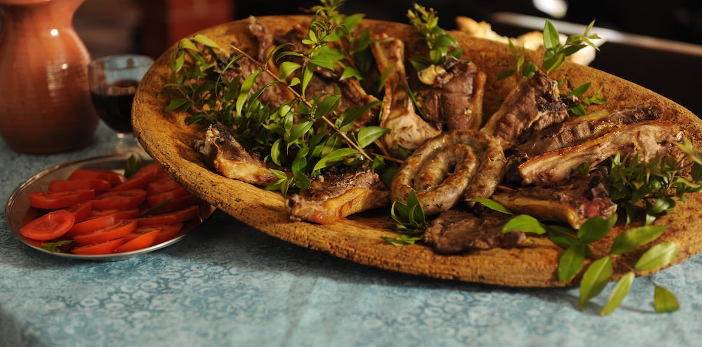Cucina Tipica Locale  Agriturismo Lo Sperone Gonnesa