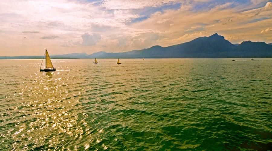 Il lago di Garda, un mare d'attrattive