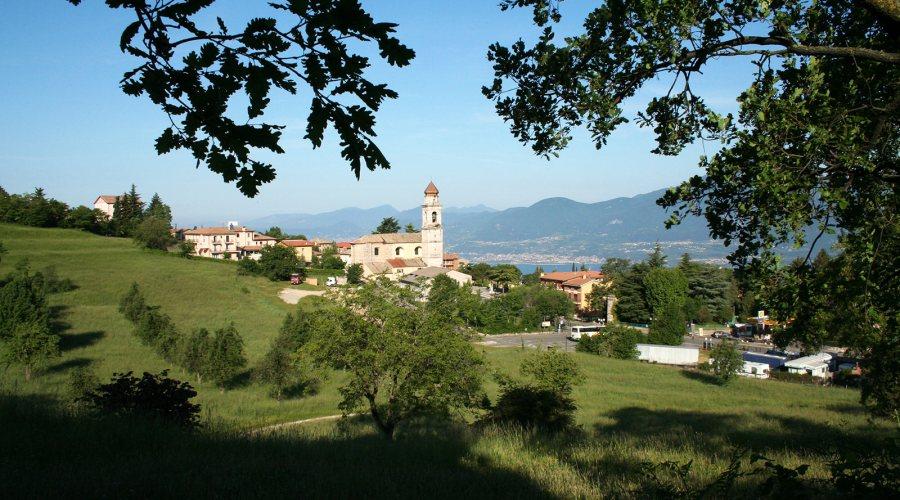 Benvenuti sul Lago di Garda, a San Zeno di Montagna