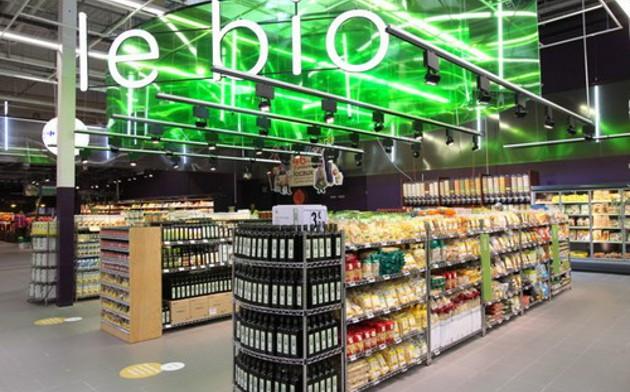 Trois quarts des consommateurs achètent leurs produits bio en GMS.