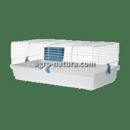 voltrega jaula para conejos 930 azul