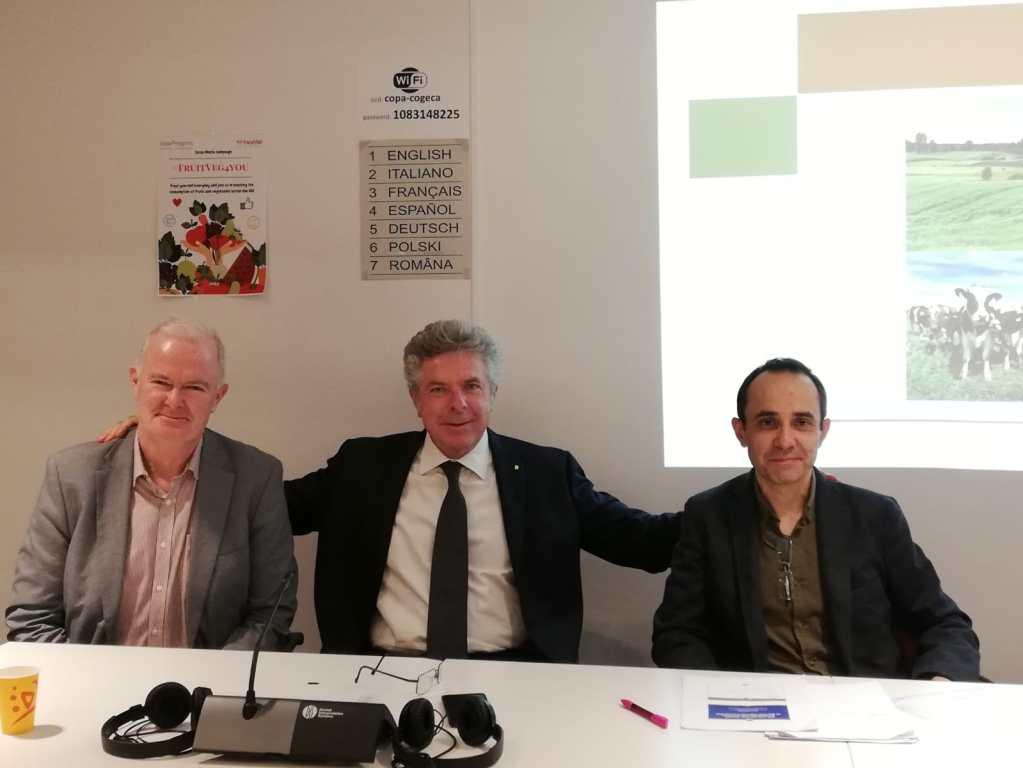 Daniele Rossi presidente ricerca innovazione Agricoltori europei e Agro Cooperative