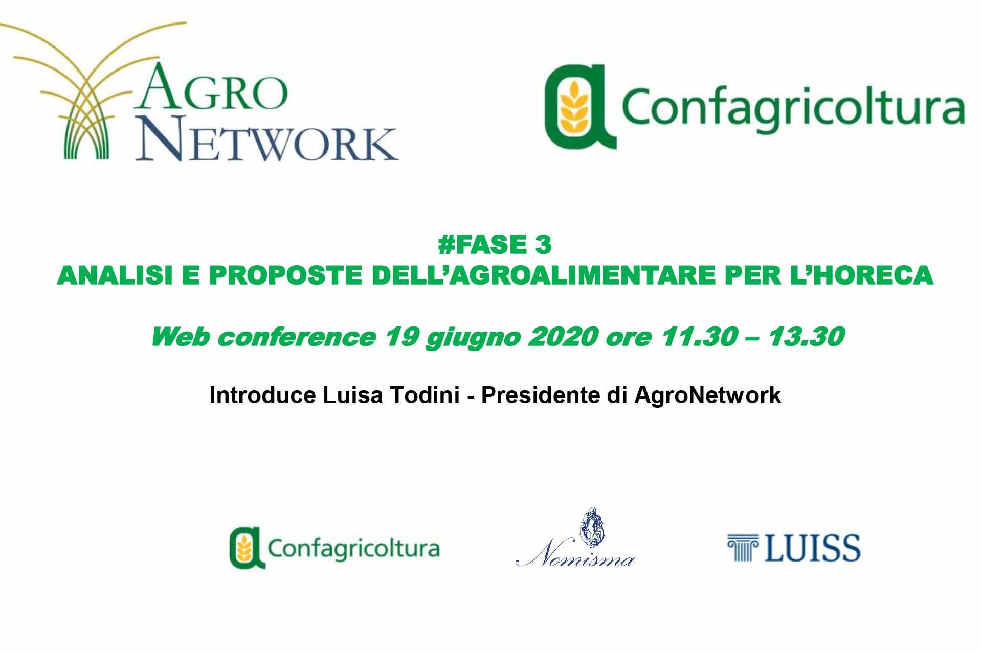 Agronetwork News - locandina def evento 19 giugno 2020 - Proposte per reagire al Coronavirus