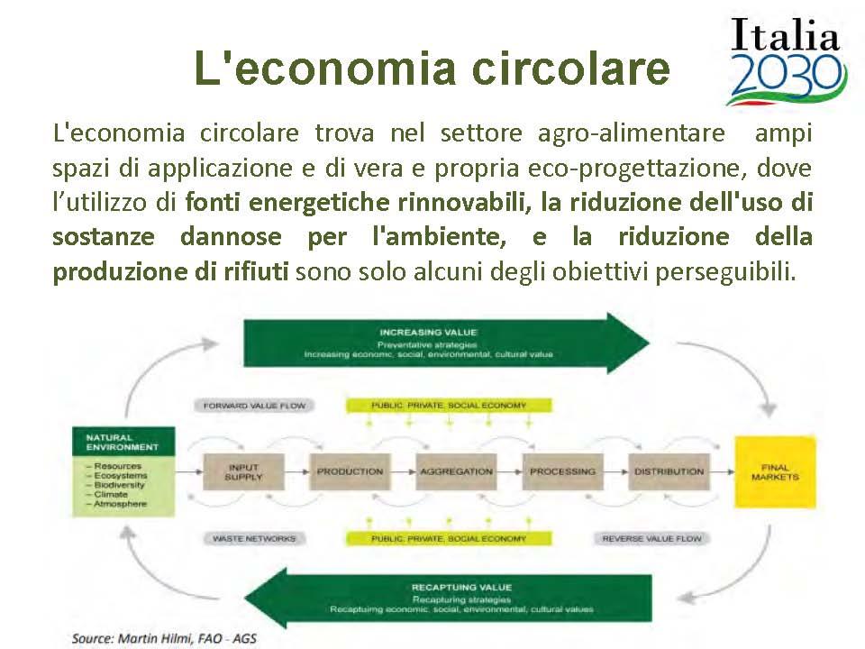 05 Agronetwork News Progetto LUISS - MiSE innovazioni circolari agricoltura Economia circolare