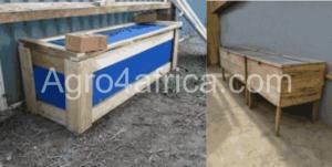 snail housing/ hutch box
