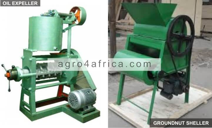 Oil Expeller and Groundnut Sheller